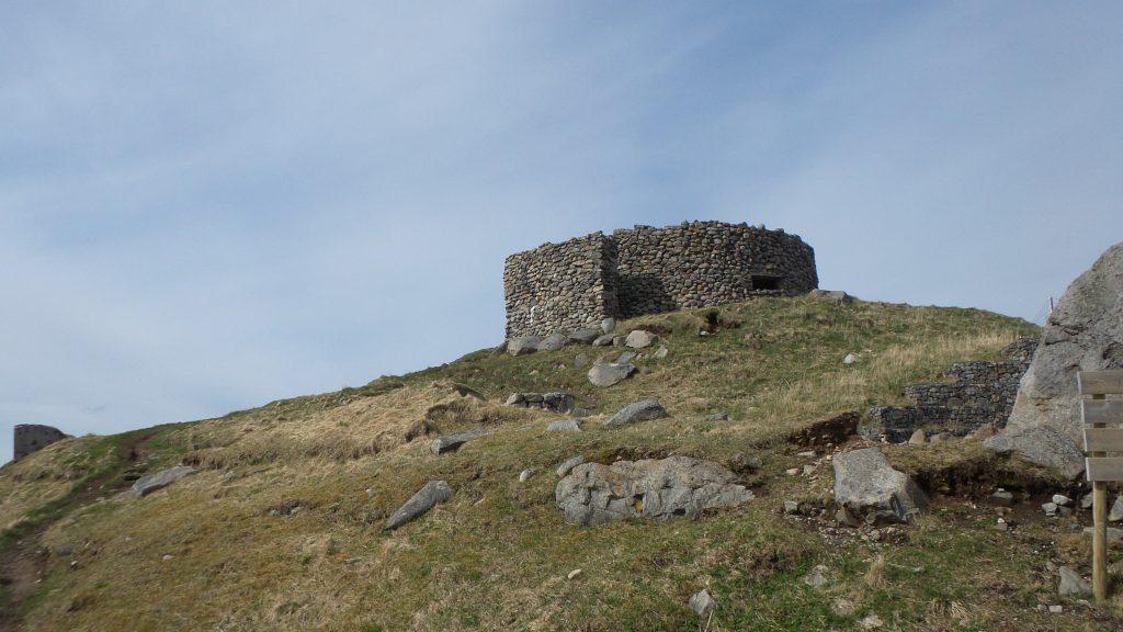 Eggum fortino di pietra
