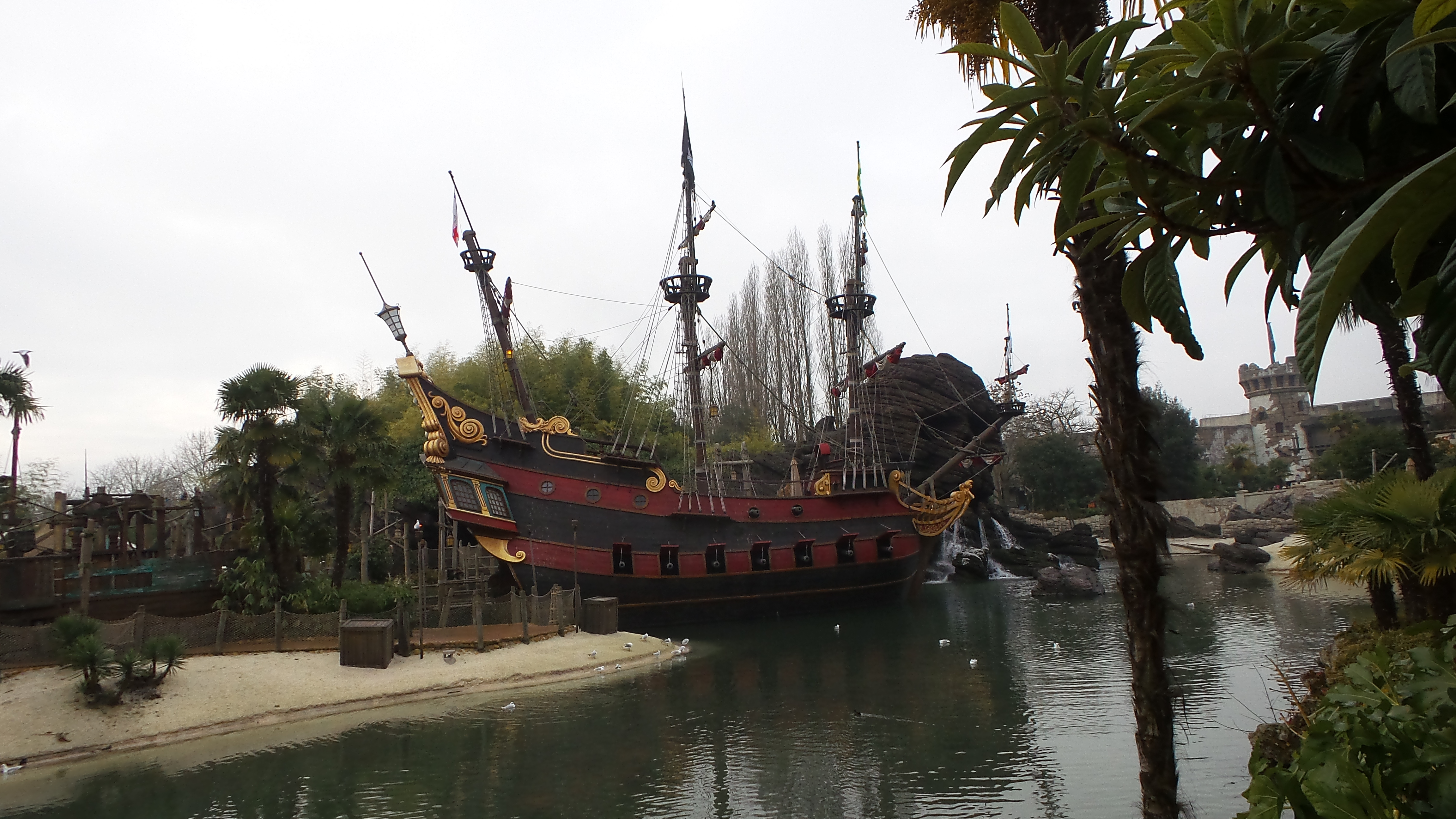 Disneyland Paris - Pirates of Caribbean