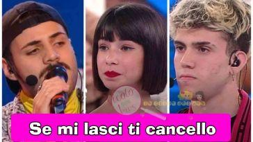 'Amici Gossip' Martina Miliddi e Raffaele Renda in giro insieme e nel frattempo Aka7even prende le distanze