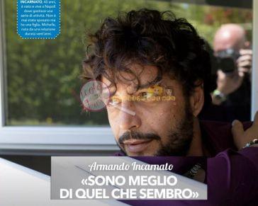 'Uomini e Donne' Armando Incarnato spiega perchè era sparito dalla trasmissione, che intenzioni ha con Ida Platano e soprattutto in che rapporti è ora con Roberta Di Padua