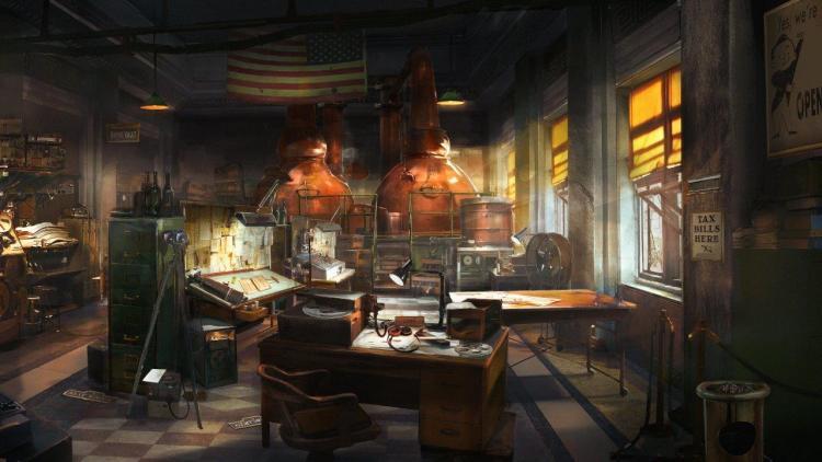ROW_Wolfenstein II_Distillery_american_bank