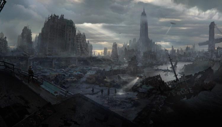 ROW_Wolfenstein II_Nuked_Manhattan_Vista