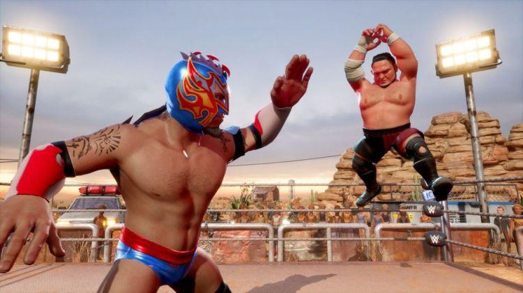 WWE 2K Battlegrounds è disponibile - IlVideogioco.com
