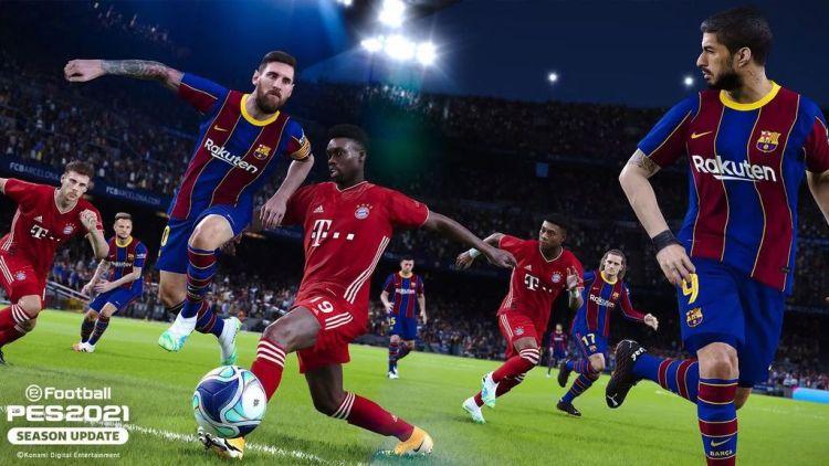 eFootball PES 2021 Season Update, fischio d'inizio su Pc e console
