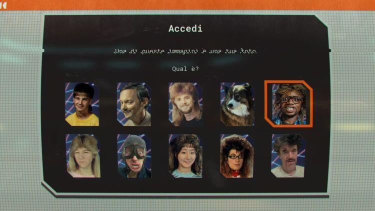 Scelta dell'avatar/personaggio