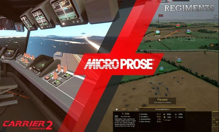 Microprose, in arrivo le demo di Carrier Command 2 e Regiments