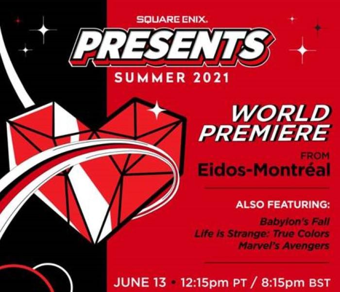 Square Enix Presents, in onda il 13 giugno durante l'E3 2021 - IlVideogioco.com