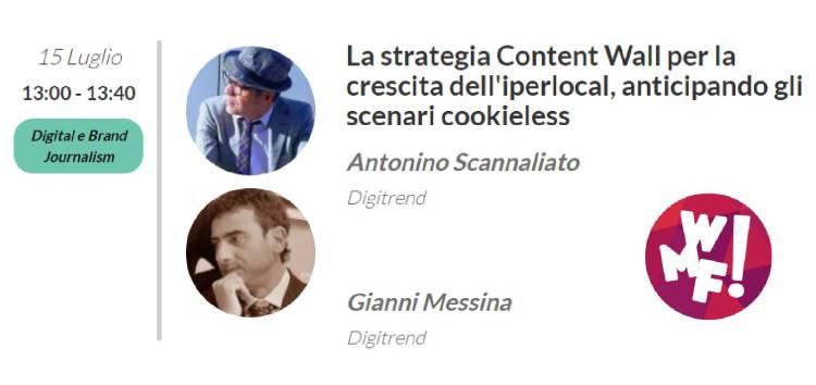 Web Marketing Festival, Digitrend affronta i nuovi scenari del Digital e Brand Journalism - IlVideogioco.com