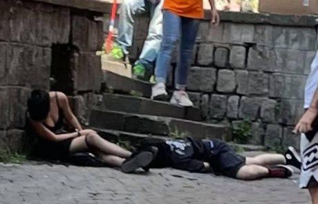 Immagini forti dal Sacrario: minorenni ubriache si accasciano sulla strada. Salvate in extremis dal coma etilico