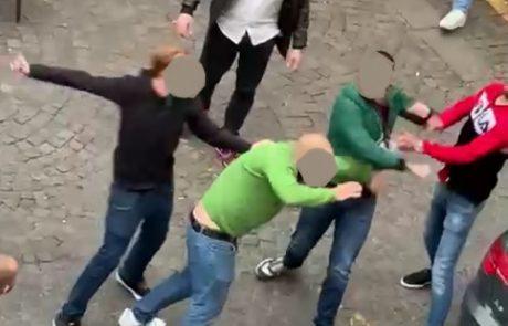 Rissa a piazza del Comune, tre denunce