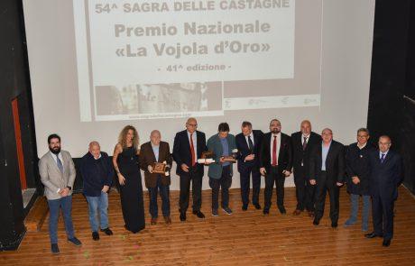 Soriano: ad Agnocchetti, wertmuller e Clarioni il Premio Vojola d'Oro
