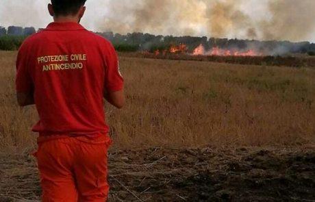 Emergenza incendi, nella Tuscia all'opera 31 associazioni di volontariato