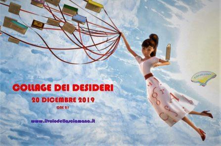 20 dicembre 2019 – Collage dei Desideri – Rito per il nuovo Anno – Sovigliana (Fi)