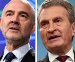 Moscovici imbarazzato dalla domanda fatta da un giornalista italiano (video)