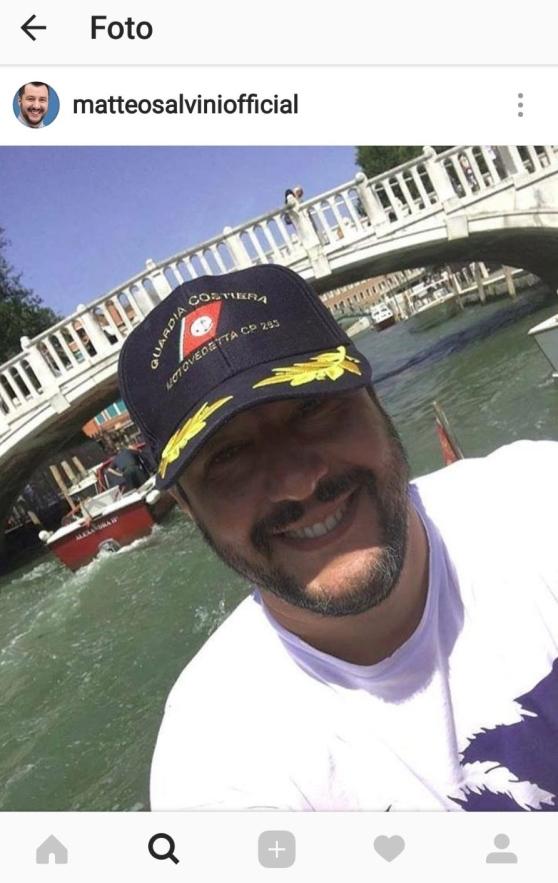 Salvini fa arrabbiare il web ecco il perche'