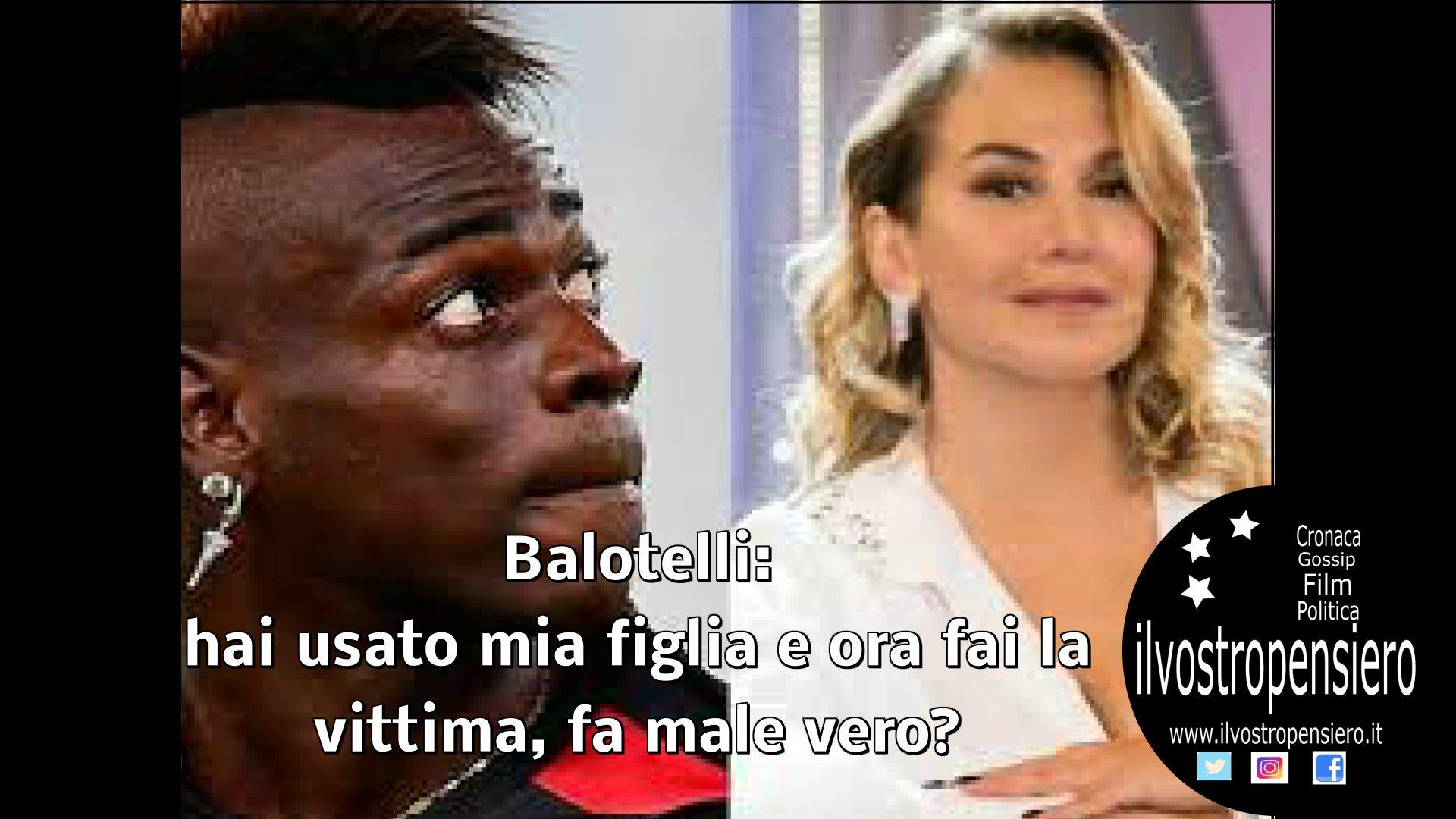 Mario Balotelli dedica una storia su Instagram contro Barbara D'Urso