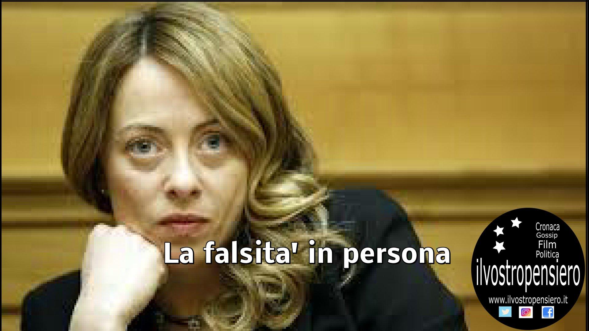 Giorgia Meloni: da false notizie su via della seta,infanga il m5s,leggi per saperne di piu'