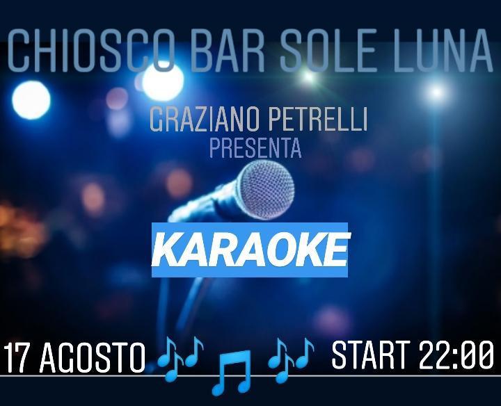 Serata Karaoke al chiosco bar sole luna a Castiglione d'otranto