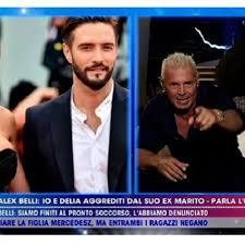 Live non e' la D'Urso: Marco Nerozzi ex di Delia Duran, lei non l'ho toccata,volevo solo pestare Alex Belli.