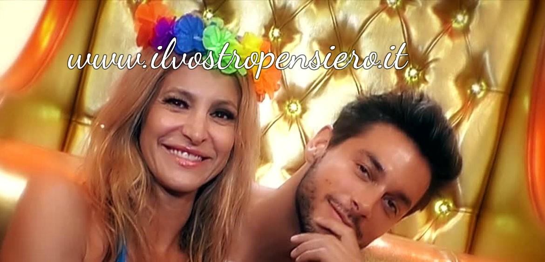 Gfvip: Adriana Volpe molto complice con Andrea Denver,come la prendera' il marito?