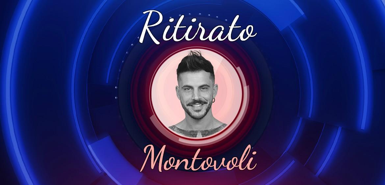 Gfvip: Andrea Montovoli si ritira..