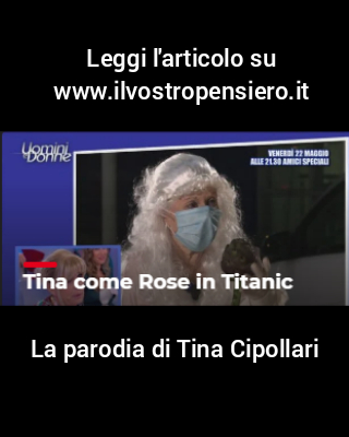 Uomini e donne: La parodia di Tina Cipollari.