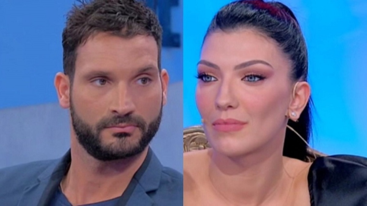 Uomini e donne: Sammy beccato con una bella bionda.(Video)