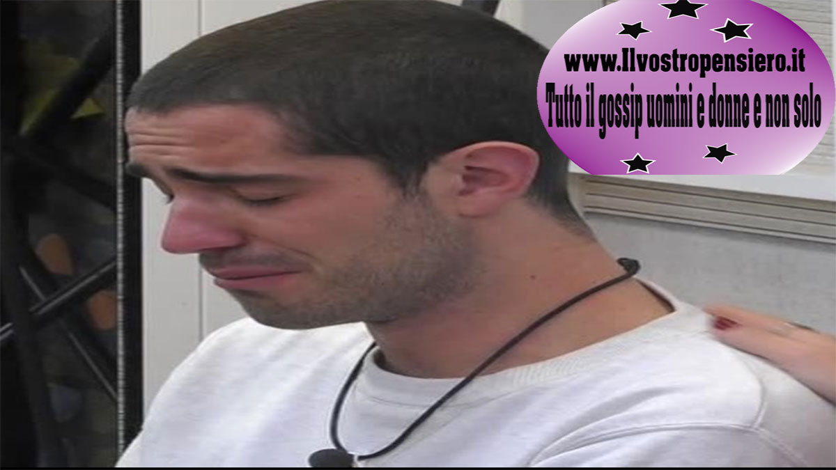 Gfvip: Tommaso Zorzi molto triste