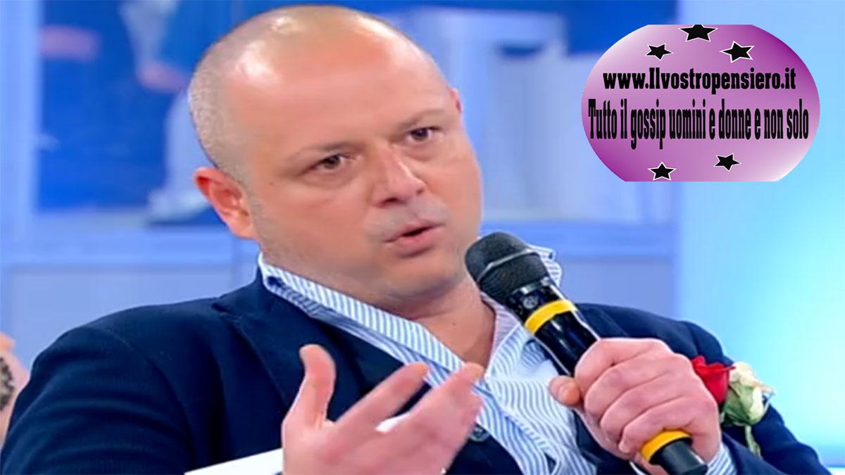 """Uomini e donne: Andrea new entry per Gemma, """" sei gelosa che corteggio Gemma?""""."""