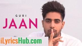 Jaan Lyrics - Guri