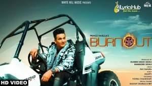 Burnout Lyrics - Prince Narula Ft. Yuvika Chaudhary