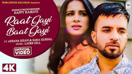 Photo of Raat Gayi Baat Gayi – Happy Raikoti lyrics | Afsana khan