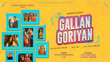 Photo of GALLAN GORIYAN LYRICS – Dhvani Bhanushali | iLyricsHub