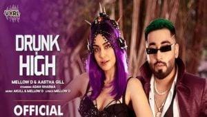 Drunk N High Lyrics Mellow D x Aastha Gill
