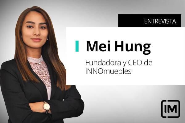 Mei Hung fundadora de INNOmuebles