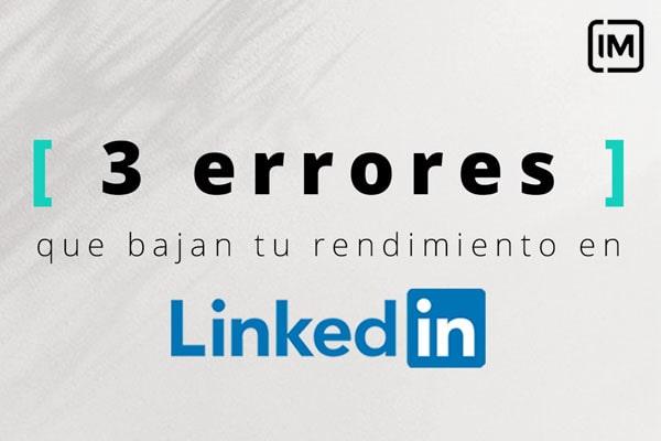 errores linkedin