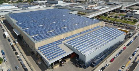 Parque solar fotovoltaico Almussafes