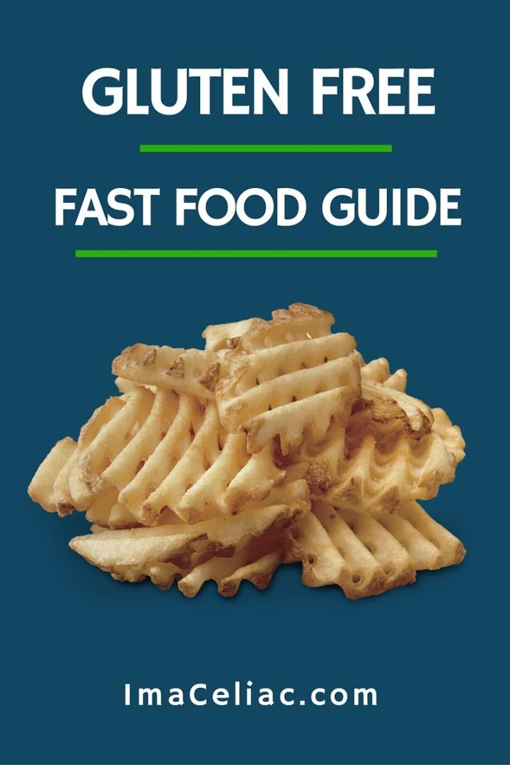 Great list of safe Gluten Free fast food restaurants