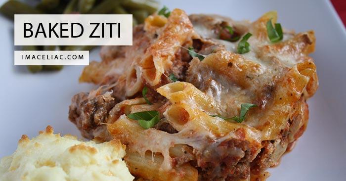 Best Recipe for Gluten Free Baked Ziti