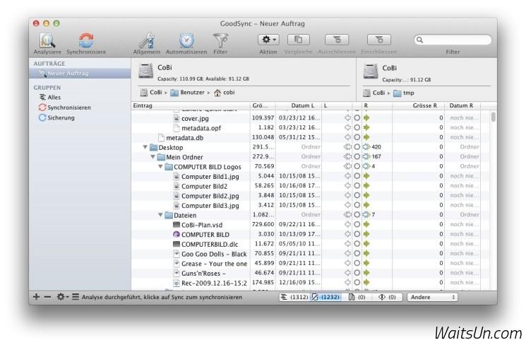 GoodSync Pro for Mac 5.5.3.0 破解版 - Mac上强大专业的文件同步备份工具