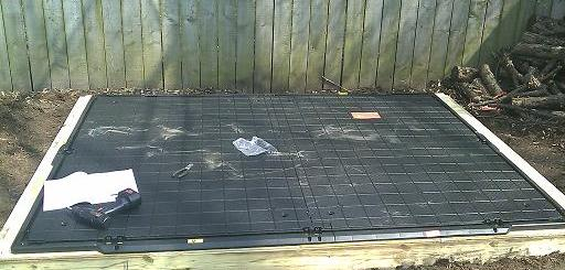 Shed Floor