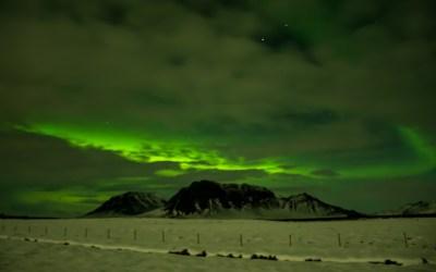 Aurora Borealis in IJsland