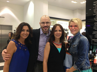 Armani Makeup Event, Beauty, Makeover