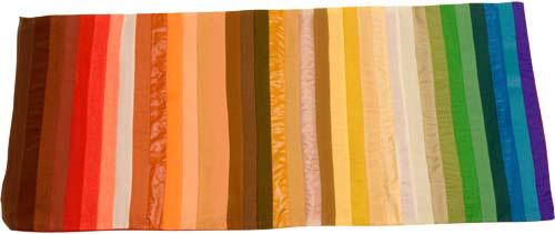 Warm Color Flag, Personal Color Analysis, Color Drapes, Color Consultation, Colorimetria, Analisis de Color