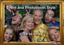 Portrait and event photography photobooths