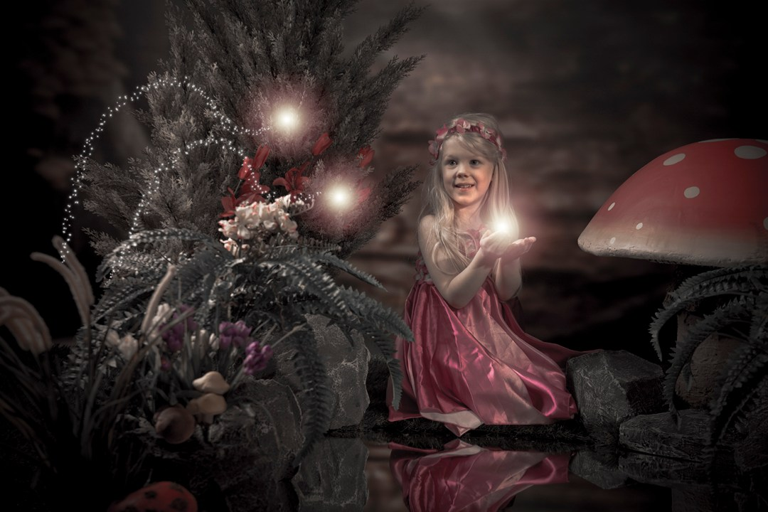 Fairy and Elf photography in our enchanted forest set