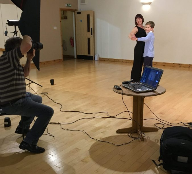 Portable Photographic Studio 'does Strictly'