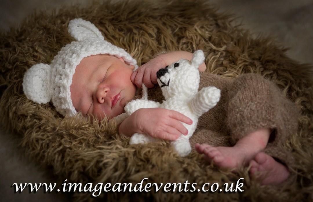 Newborn photography in the Peterborough studio
