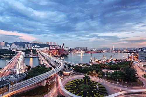 從長青邨青柏樓看青衣南橋 - 香港好去處 | 香港攝影景點 | ImageJoy