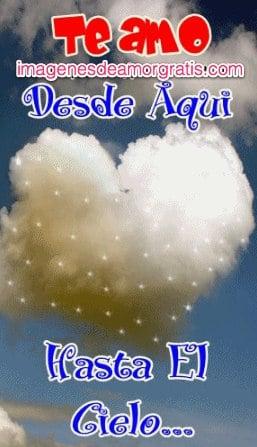 Te amo hasta el cielo